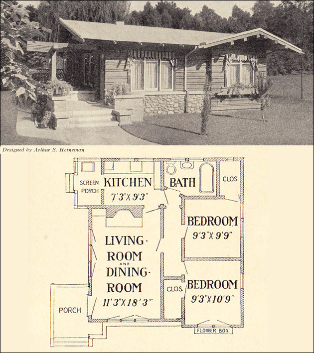 1916 Bungalow Cottage - Heineman