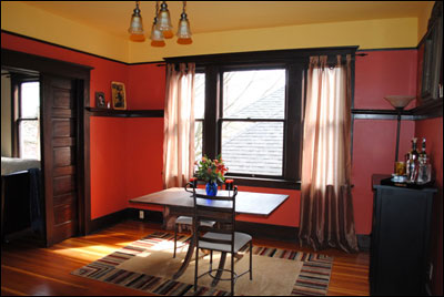 1910s apartment brave color - Small House Living