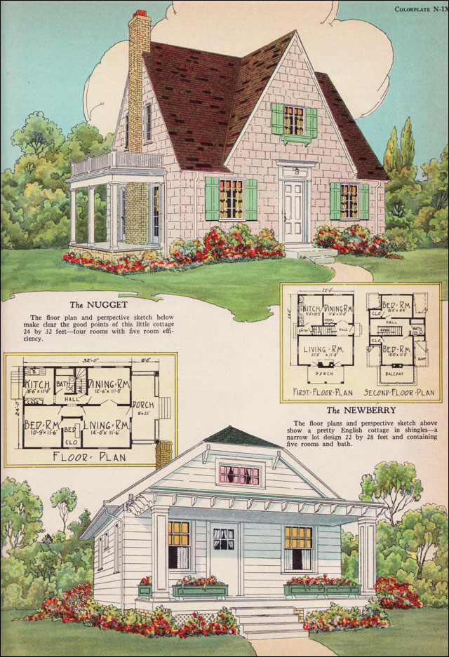 Small english cottage house plans find house plans for Find house blueprints