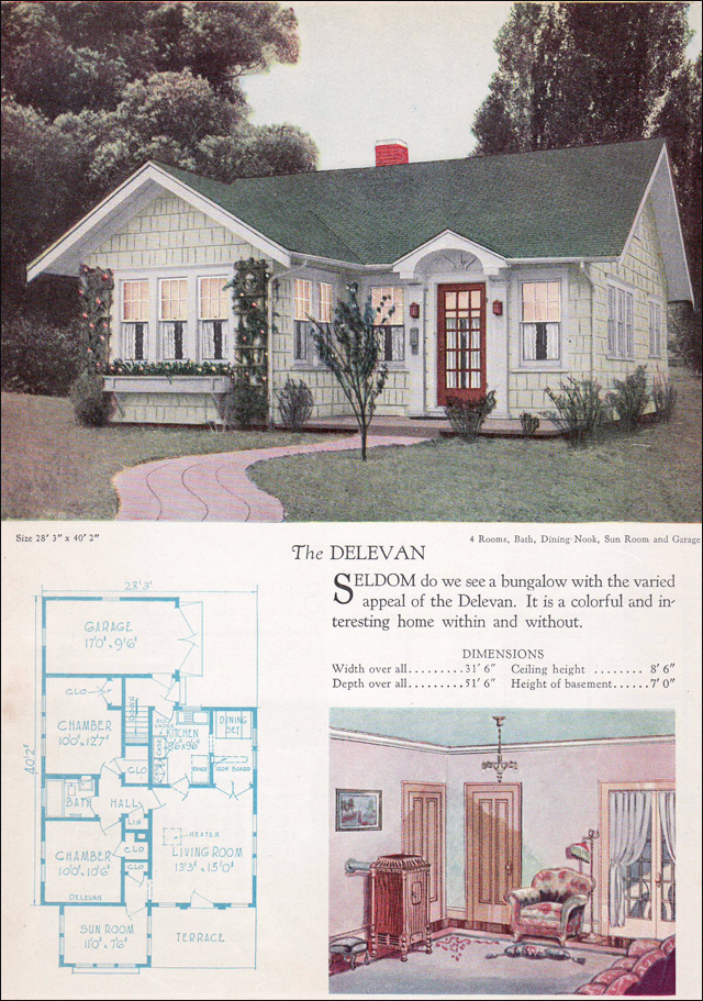 1928 Home Builders Catalog - 1928 Delevan - Small Vintage ... Radford Home Floor Plans Antique on open ranch floor plans, sci-fi home plans, antique home windows, antique home features, cliff may homes floor plans, waterfront floor plans, townhouse floor plans, mexican small house floor plans, condo floor plans, small cottage floor plans, vintage floor plans, antique home color schemes, antique home architecture, antique house drawings, aladdin homes floor plans, patio home plans, antique home kitchen, antique house plans, antique home remodeling,